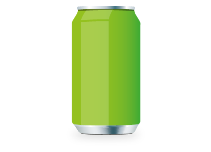 Recycled cans per year